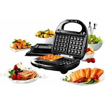 Nova Snack Magic NSM-2403 4 Slice Sandwich Maker - Black | Grey