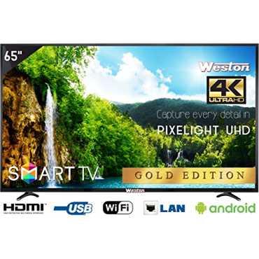 Weston WEL-6500 65 Inch Smart Ultra HD 4K LED TV
