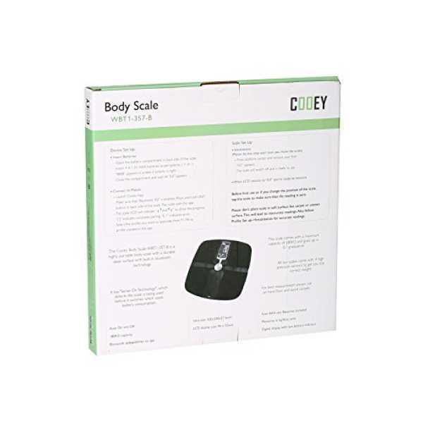 Cooey WBT1 357 B Wireless Body Fat Analyzer - Blue