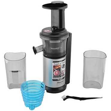 Panasonic MJ-L500 150W Slow Juicer - Silver | Black