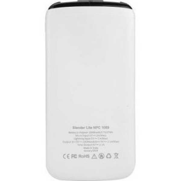 Nextech Slender Lite NPC-1089 10000mAh Power Bank