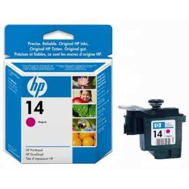 HP 14 Magenta Printhead - Pink