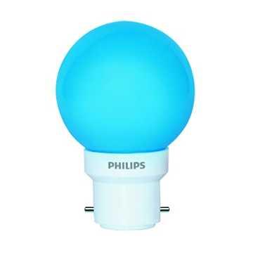 Philips 0.5W Decomini B22 LED Bulb (Blue) - Blue