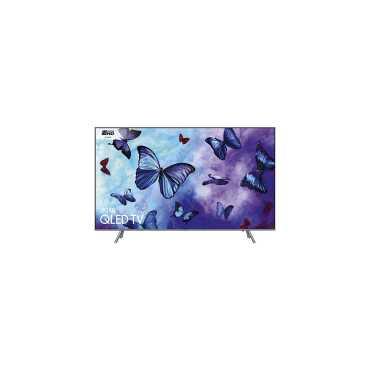Samsung (QA55Q6FNAKXXL) 55 Inch  Ultra HD Smart QLED TV - Eclipse Silver | Black