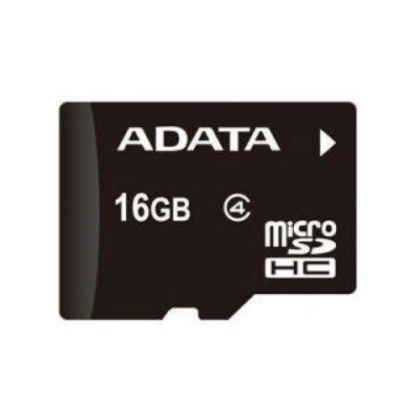 AData AUSDH16GCL4-R 16GB Class 4 MicroSDHC Memory Card
