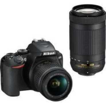 Nikon D3500 DSLR Camera AF-P DX 18-55mm f 3 5-f 5 6G VR and AF-P DX 70-300mm f 4 5-f 6 3G ED Dual Kit Lens