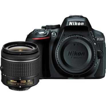 Nikon D5300 DSLR (with 18-55 VR Kit Lens) - Black