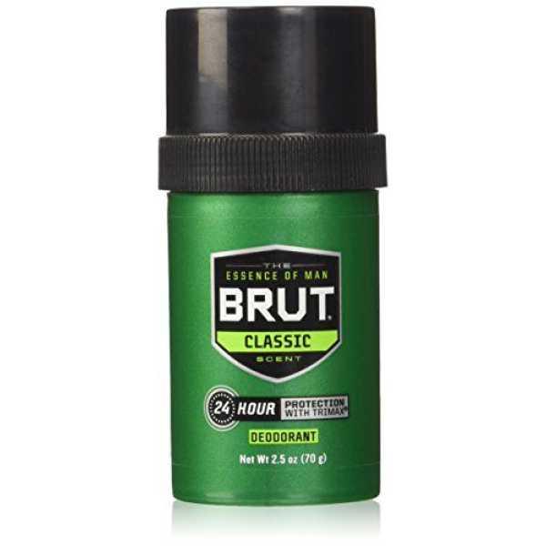 Brut Round Solid Deodorant