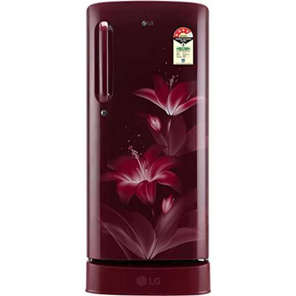 LG GL-D201ARGX 190 L 4 Star Inverter Direct Cool Single Door Refrigerator (Glow)