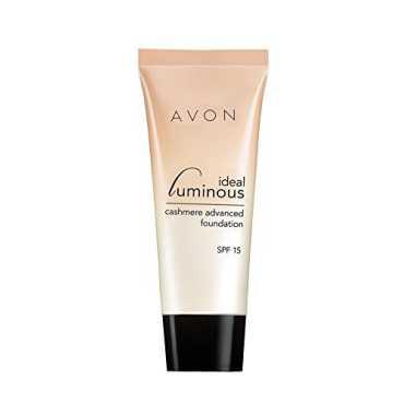 Avon Color Ideal Luminous Liquid Mousse Foundation (Creme Beige)