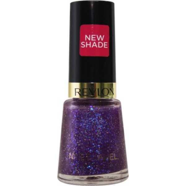 Revlon Glitzy Nights Nail Enamel Splendor (Purple) - Purple