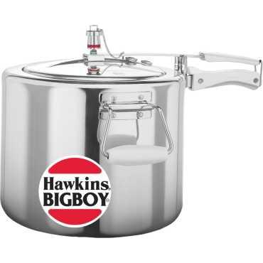 Hawkins Bigboy E30 18 L Pressure Cooker (Aluminium, Inner Lid)