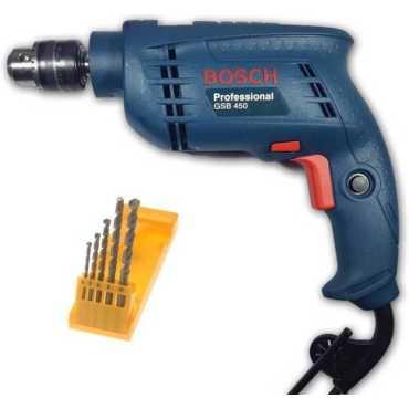Bosch GSB 450 Pistol Grip Drill(With 5 pcs masonry bit 10mm Chuck Size)