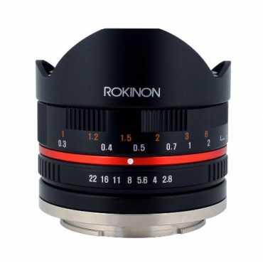 Rokinon RK8MBK28-E 8mm F2 8 UMC Fisheye II Fixed Lens For Sony