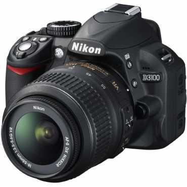 Nikon D3100 SLR with AF-S 18-55mm VR Kit Lens - Black