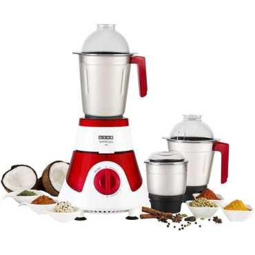 Usha Imprezza 750W Mixer Grinder - Red | White