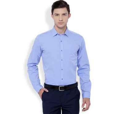 Men's Formal Blue Shirt