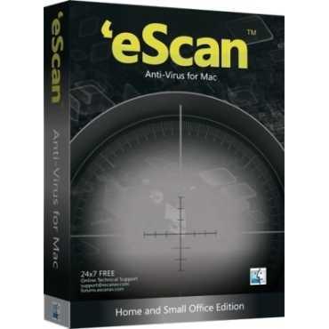 eScan AntiVirus for Mac 3 Users 1 Year