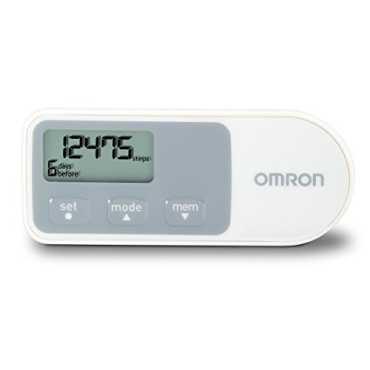Omron HJ-320 Pedometer - White