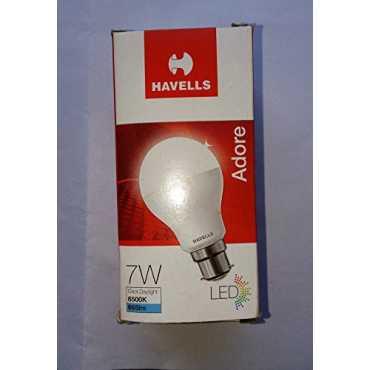 Havells Adore 7W B22 665L 6500K Led Bulb (White) - White