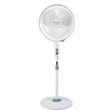 Singer Aerostar 3 Blade (400mm) Pedestal Fan - White