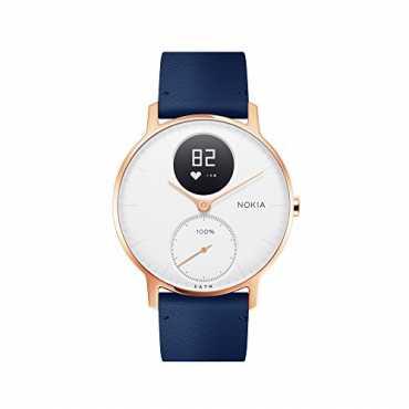 Nokia Steel HR Smartwatch - Steel | Black