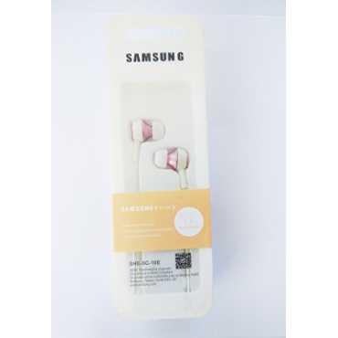 Samsung SHE-SC-10E In Ear Earphones - Pink | White