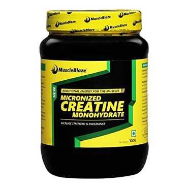 MuscleBlaze Creatine Unflavoured Supplement (300 Gm)