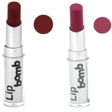 Color Fever Lipstick 16-21 (Romance, Dark rose) (Set of 2)