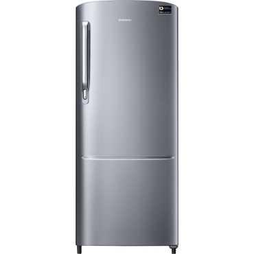 Samsung RR22M272YS8 212L 4S Single Door Refrigerator (Elegant Inox) - Silver