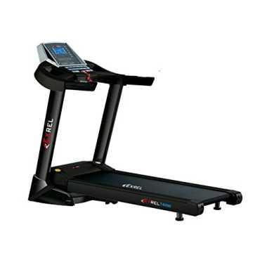 EXREL T4000 Motorized Treadmill - Black