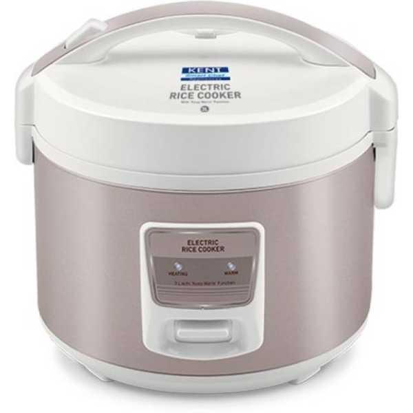 Kent 16013 3L Electric Cooker - White   Grey