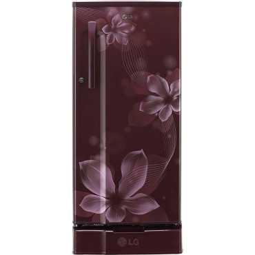 LG GL-D191KPOX 188 L 4 Star Inverter Direct Cool Single Door Refrigerator (Orchid)