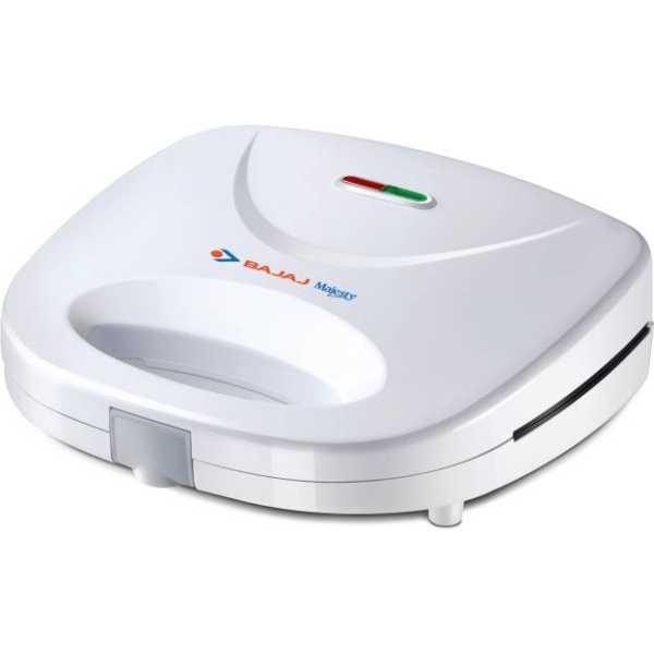 Bajaj Majesty SWX400 2 Slice Toast Sandwich Maker - White