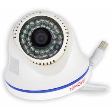 Roman RO1048D 1MP 48IR/30Mtr IR Dome CCTV Camera - White