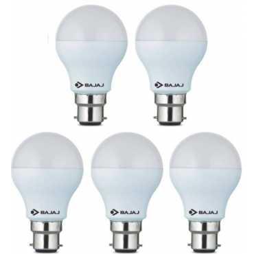 Bajaj Corona 3W Standard B22 300L LED Bulb (White,Pack of 5) - White