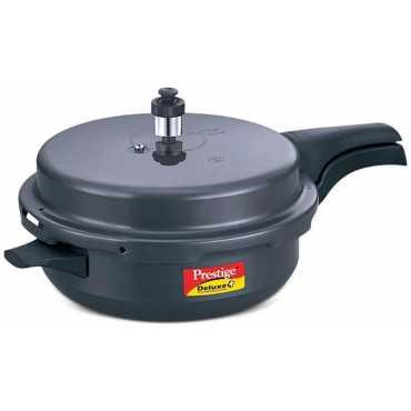 Prestige Deluxe Plus Senior Pan 5.4 L Pressure Cooker (Outer Lid)