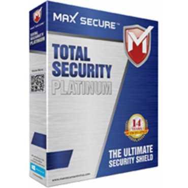 Maxsecure Total Security Platinum 10 PC 1 Year Antivirus - Platinum