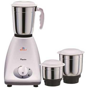 Bajaj Popular 450W Mixer Grinder - White