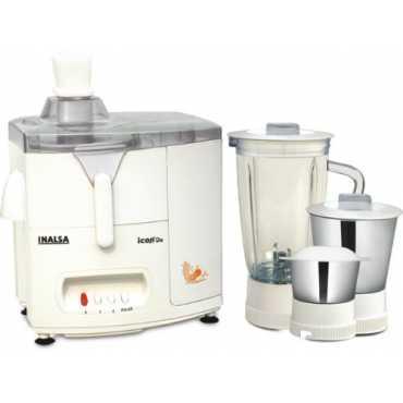 Inalsa Icon Dx 450W Juicer Mixer Grinder - White