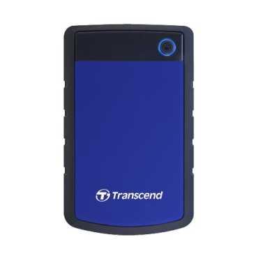 Transcend StoreJet 25H3P 2.5 Inch USB 3.0 1 TB External Hard Disk - Purple | Blue