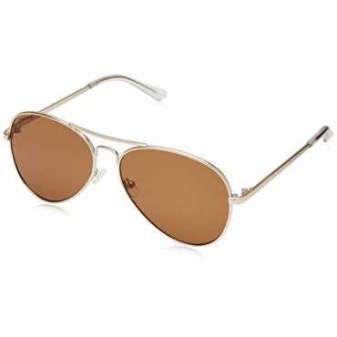 UV Protected Aviator Men's Sunglasses (M162BR4|59|Brown Color