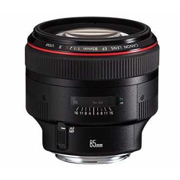 Canon EF 85mm f/1.2L II USM Lens - Black