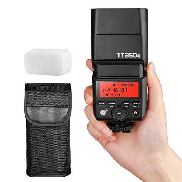 Godox TT350N 2.4G Wireless Speedlite Flash (For Nikon) - Black