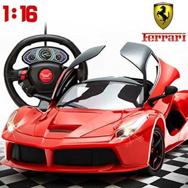 Zest 4 Toyz Ferrari Remote Control Car, Multi Color