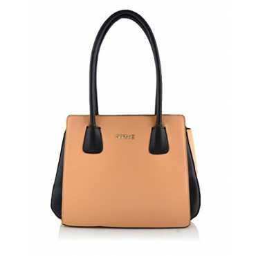 Women's Handbag ( Beige,Xb15-0036)
