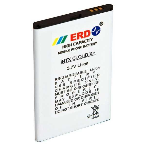 ERD 1200mAh Battery (For Intex Cloud X Plus)