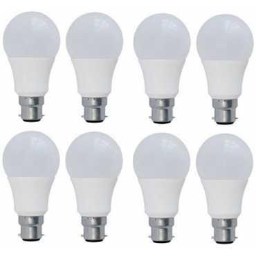 Syska 5 W LED Bulb B22 Yellow (pack of 8) - Yellow