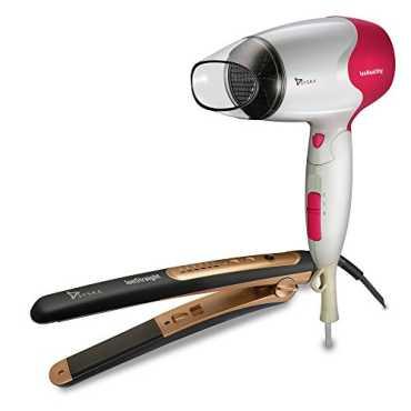 Syska Combo of Ion Health HD-3600 Hair Dryer & Ion Straight HS-2021 Hair Straightener