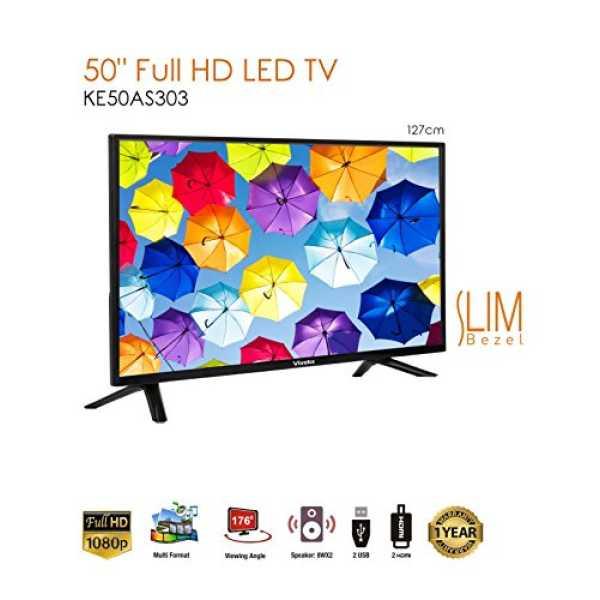 Viveks KE50AS303 50 Inch LED TV